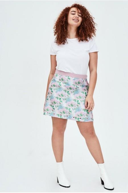 OSMO Jacquard Mini Skirt