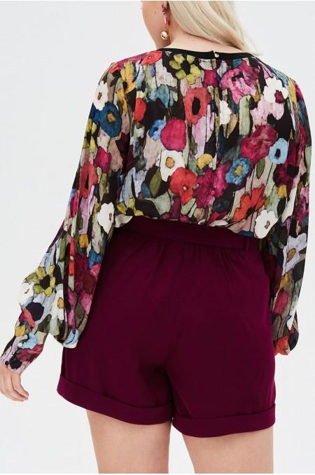 ARYA Belted Shorts
