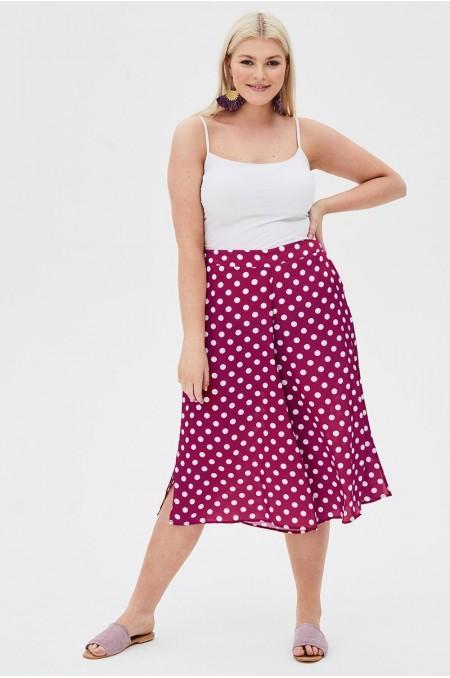 Culottes In Spot Print