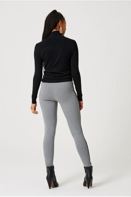 ETC. Leggings with Side Stripe Detail