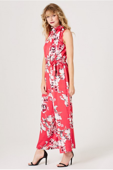 PIPER Floral Print Jumpsuit