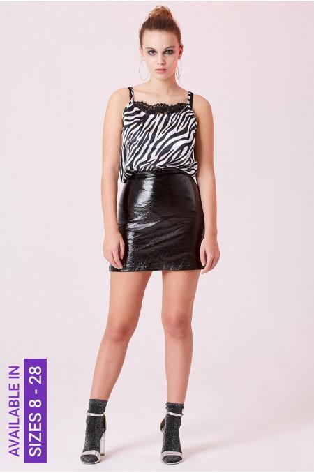 ETC. Zebra Print Cami