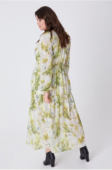 MIA Printed Smock Dress