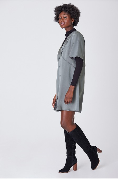 HELGA Double Breasted Dress