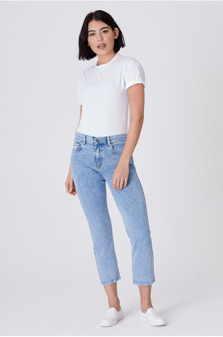 ODA Stonewash Straight Jeans