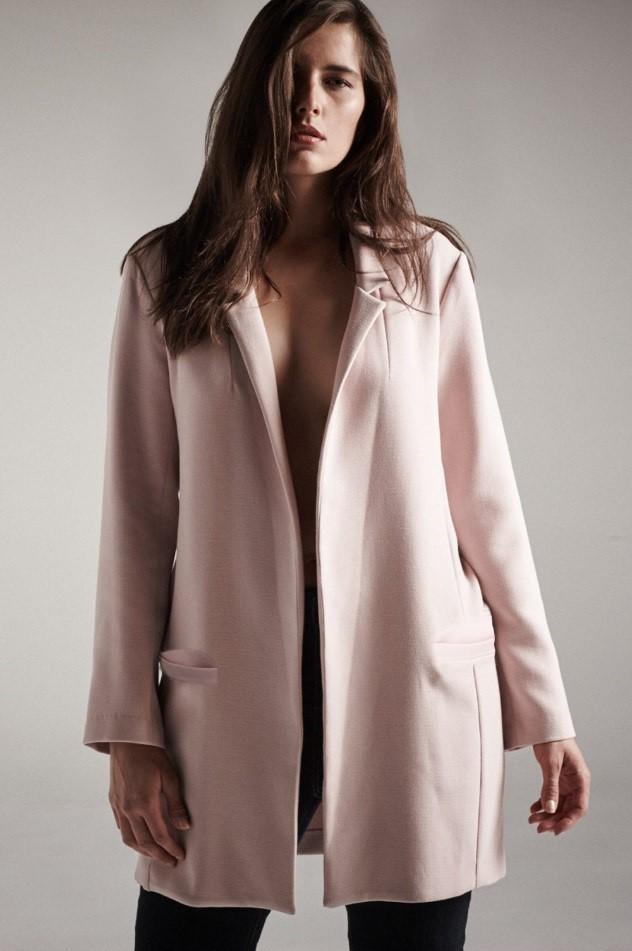 dc4a61d63f6 pink boyfriend blazer – Elvi Ladies Plus Size Fashion Blog